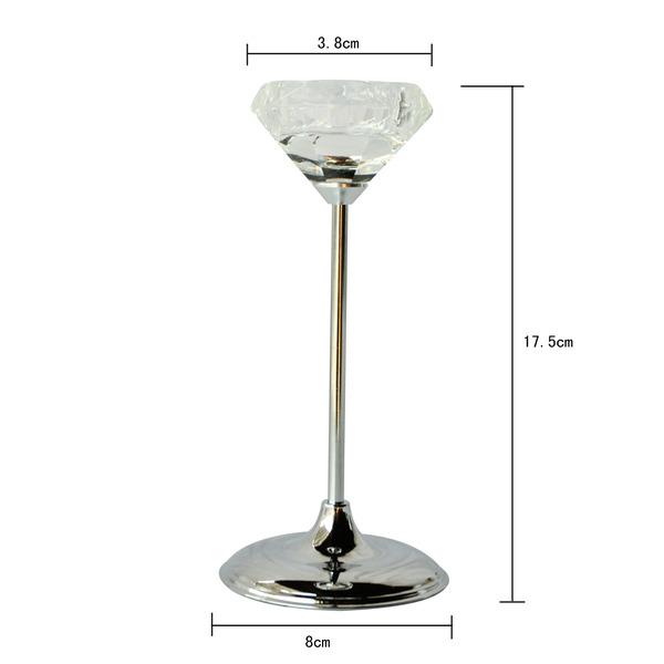 Bulk Lot X 6 Wedding Tealight Candle Votive Holder Glass