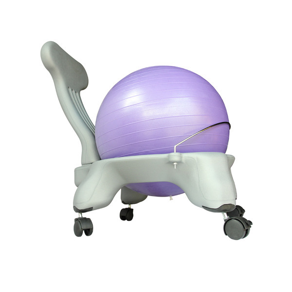 Balance Ball Chair Frame Only: Purple Yoga Ball Chair