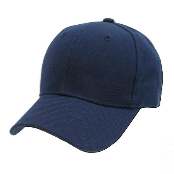 Plain Baseball Caps Dark Blue Hat Cap New
