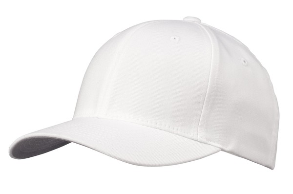 Bulk Lot 12 Plain Baseball Caps White Hat Cap New