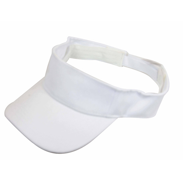 Plain White Visor Golf Tennis Caps Hat Cap New Careyou