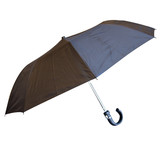 Bulk Lot 12 Plastic Handle Classic Black Folding Umbrella Easy Carry