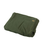 Heavy Duty Canvas Tarp Tarpaulin 9' x 12' 16oz Waterproof Green