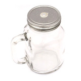 12 x 500ml Classic Mason Jars Mugs Straw Lid With Handle