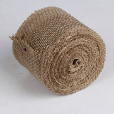 10cm x 10m Hessian Burlap Ribbon Roll Sash Wedding Rustic Decor