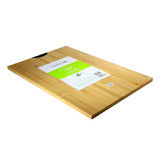 Large Wooden Bamboo Chopping Board 60 x 39 cm Cut Cutting Slicing Platter