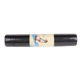 YOGA MAT PILATES GYM FITNESS EXERCISE BLACK 5MM 61X173CM