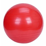 Yoga Gym Pilates Fit Anti Burst Swiss Ball With Pump 75cm Red