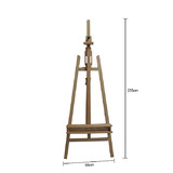 New Pro Heavy Duty Foldable 235cm Wooden Tripod Easel Artist Art Painting Stand