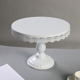 White Metal Moroccan Style Cupcake Dessert  Platter Stand Wedding Party Didsplay
