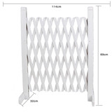 114x69cm White Wedding Party Fennce Fencing Decoration Gardening
