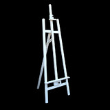 New White Wedding Foldable 165cm Wooden Tripod Easel Artist Art Painting Stand