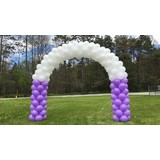 Balloon Arch Stand Portable Clips Connecters Pole Kit Frame Wedding Party Decoration