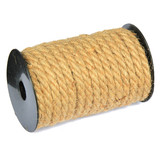 10mm x  1Yard Rustic Burlap Hessian Twine Rope Cord String Wedding Craft