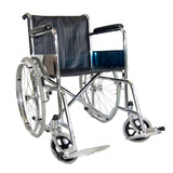 BN Steel Folding Armrest Footrest Wheelchair 24''