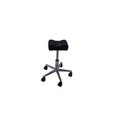 Black Ajustable Salon Nail Art  Pedicure Manicure Tattoo Arm Foot Leg Rest Stool Chair