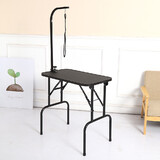 Brand New Black Cat Dog Pet Grooming Table Small 46x76cm