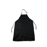 Bulk Lot 20 x Kitchen Salon Apron Aprons Man Made Leather Black 61x91cm