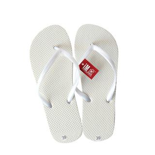 Bulk Lot x 24 Pairs White Wedding Beach Flip Flops Rubber Thongs Shoes