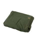 Heavy Duty Canvas Tarp Tarpaulin 12' x 12' 16oz Waterproof Green