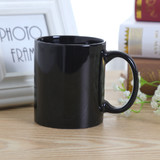 Bulk Lot x 48 Black Coffee Tea Mug Restaurant Cafe 350ml Wholesale