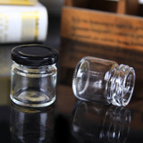 60 x Mini 50ML Wedding Favours Candy Jam  Glass Honey Jars Preserving