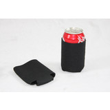 Bulk Lot x 24 Black Stubby Collapsible Foldable Can Drink Holder Cooler Stand