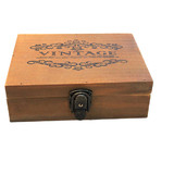 BN Wooden French Provincial Vintage Storage Jewellery Tea Decorative Box Container