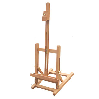 Mini Small Wooden Painting Easel Table Art Stand