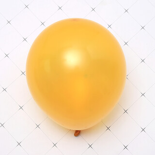 100 x Gold Latex Standard 25cm 10inch Helium Balloons