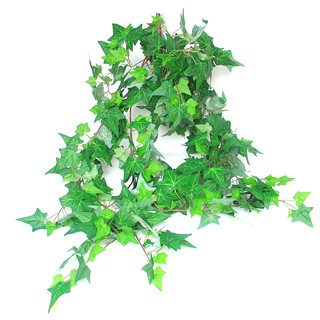 1.35M Artificial Hanging Green Ivy Leaves Branch Fake Foliage Plants