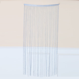 200x100cm Silver Glitter String Door Curtain