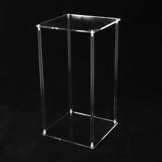 Clear Acrylic Frame Display Flower Stand