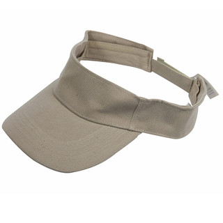 PLAIN Beige VISOR GOLF TENNIS CAPS  HAT CAP NEW