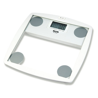 Tanita HD-355 White Digital Glass Bathroom Scales