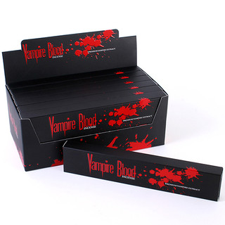 ONE BOX 144 STICKS VAMPIRE BLOOD INCENSE STICK PREMIUM