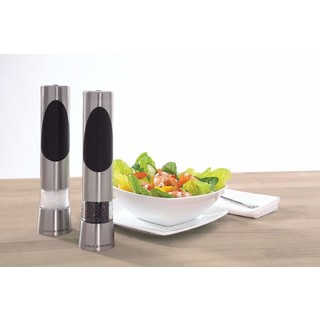 New Cole & Mason Richmond Electronic Salt And Pepper Mills Gift Set
