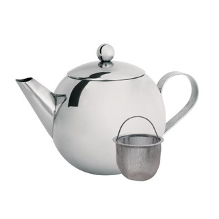 Cuisena 850ml Stainless Steel Teapot With Filter